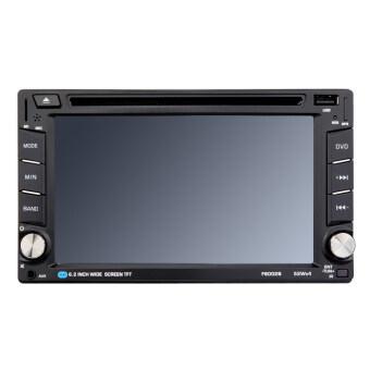 "6.2"" Bluetooth 2 Din HD Car DVD/USB/SD Touch Screen Player"