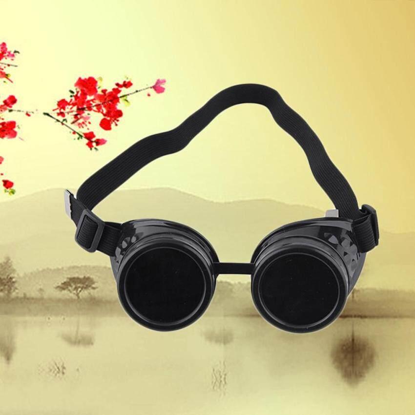 Allwin Cyber Goggles Steampunk Glasses Vintage Retro Welding Punk Gothic Victorian black ...