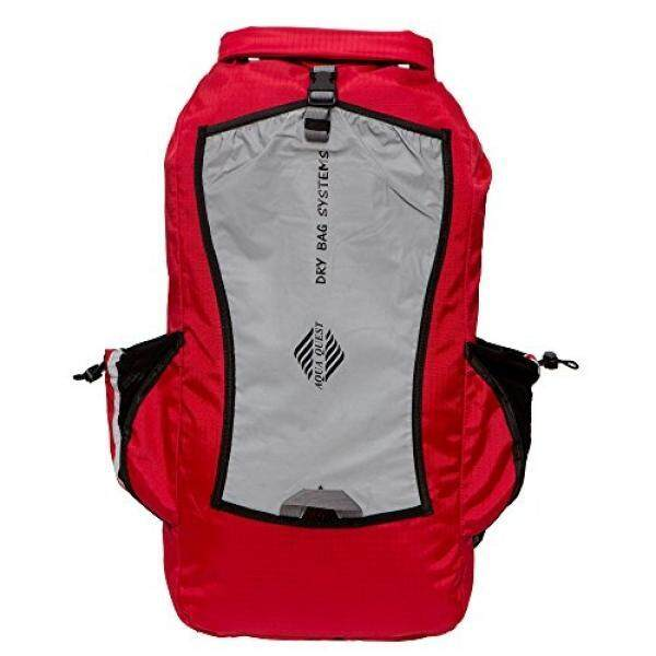 Aqua Quest Sport 25 Backpack - 100% Waterproof - 25 L - Red, Reflective ...