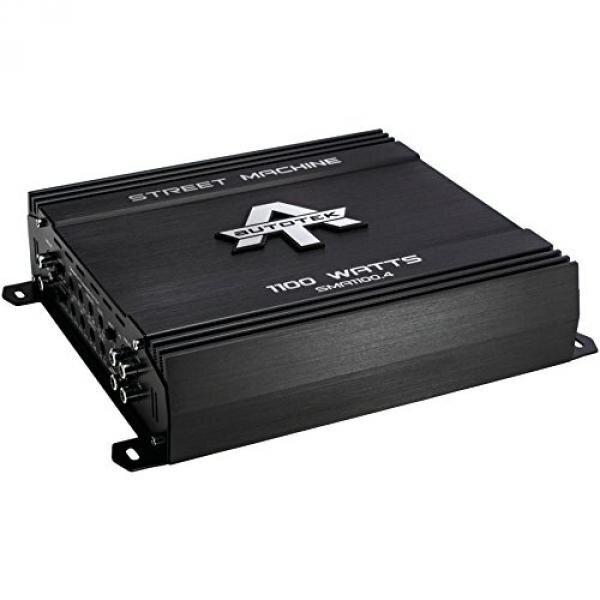 AUTOTEK SMA1100.4 Street Machine(R) 4-Channel Class AB Amp (1,100 Watts) - intl