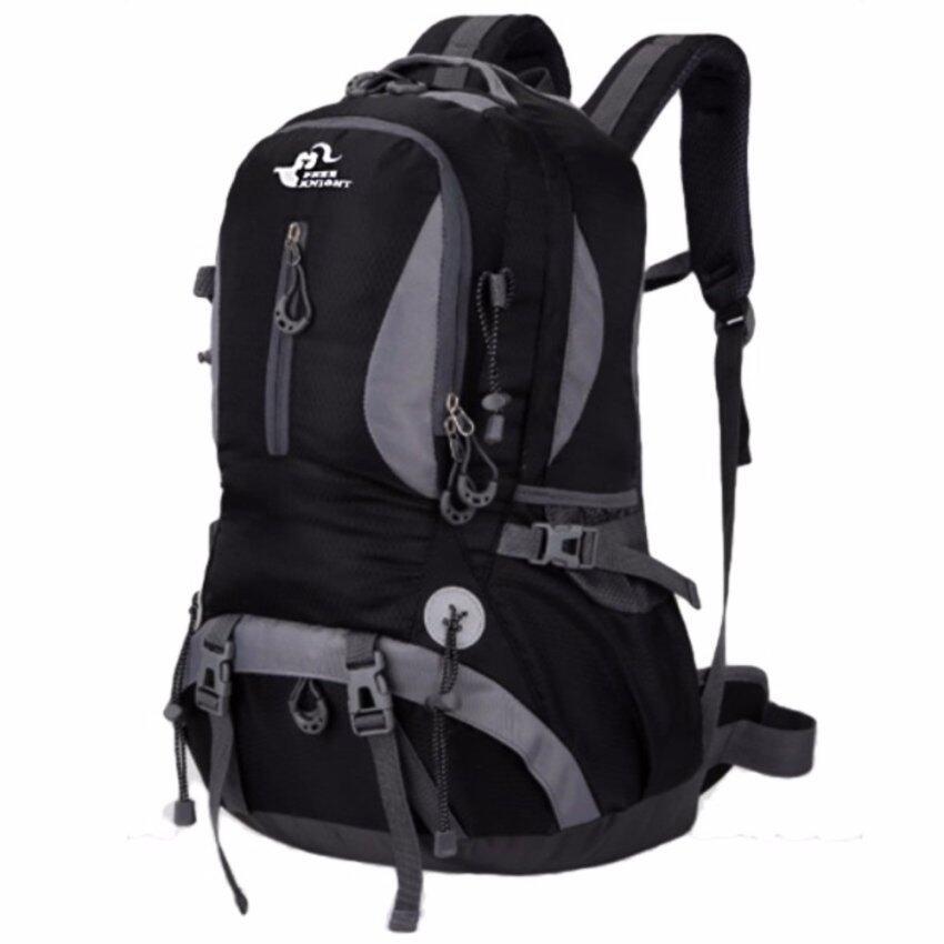 BANANA กระเป๋าเป้ กระเป๋าสะพายหลัง Outdoor Lifestyle : Black