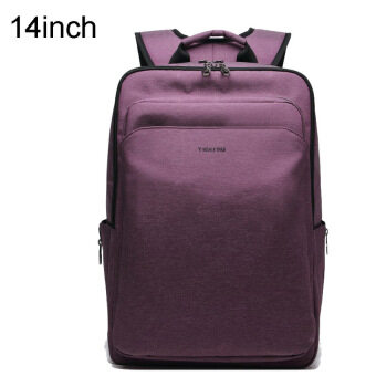 Bang Waterproof Anti-Theft Business Casual 14 Inches Laptopbackpack For 12.1-14Inches Laptop(Purple) - intl