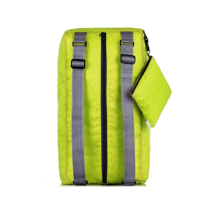 BeckyCat กระเป๋าสะพายเอนกประสงค์ ใบใหญ่ พับเก็บได้ ประหยัดพื้นที่ สีเขียว