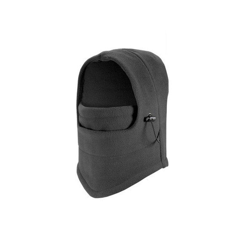 Bicycle Full Face Mask Hat Caps Motorcycle Outdoor Mask Ski Windproof Protective Mask Black