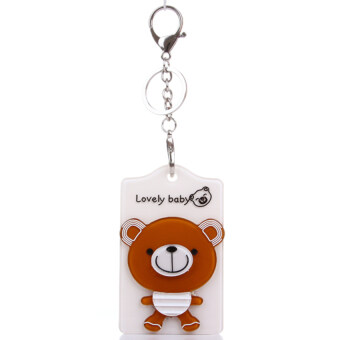 Cartoon Bear Card Holder White Chocolate Chocolate Bear