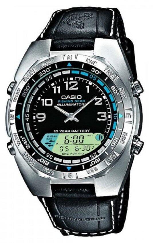 Casio นาฬิกาผู้ชาย รุ่น AMW-700B-1A (สีดำ)