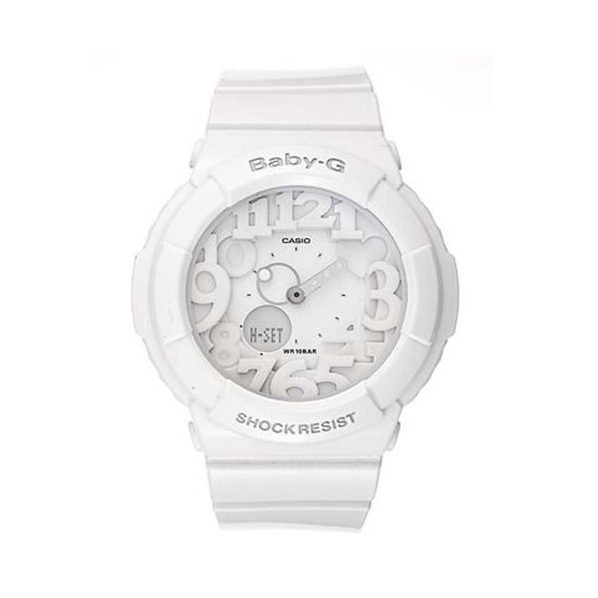 ด่วน Casio Baby-G นาฬิกาข้อมือผู้หญิง รุ่น BGA-131-7BDR (สีขาว) กำลังลดราคา