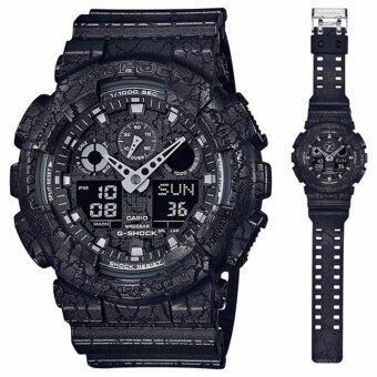 Casio G-Shockนาฬิกาข้อมือผู้ชาย สายเรซิ่น รุ่นGA-100CG-1A