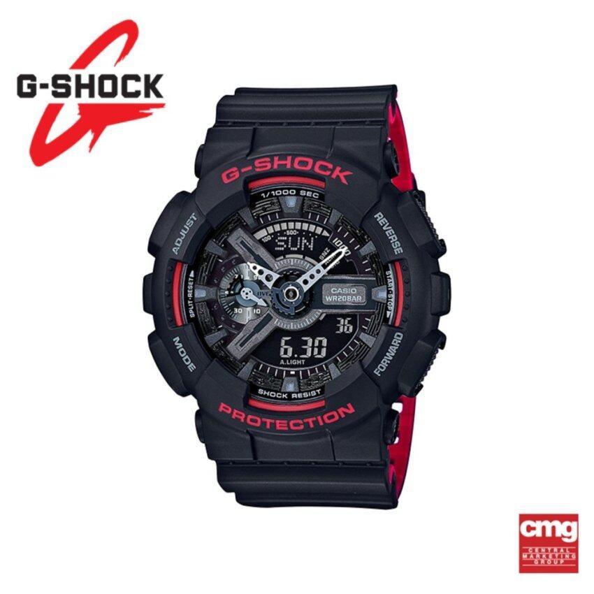 Casio G-Shock นาฬิกา GA-110HR-1ADR ประกันศูนย์ CMG (Black)