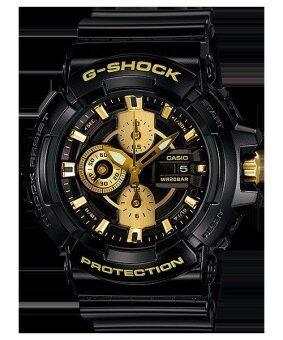 Casio G-Shock นาฬิกาข้อมือผู้ชาย สายเรซิ่น รุ่น GAC-100BR-1ADR-สีดำ