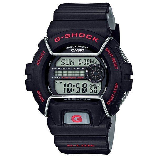 Casio G-Shock นาฬิกาข้อมือผู้ชาย สายเรซิ่น รุ่น GLS-6900-1 - สีดำ