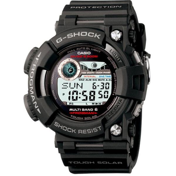 Casio G-Shock นาฬิกาข้อมือผู้ชาย สายเรซิ่น รุ่น GWF-1000-1A - สีดำ ...