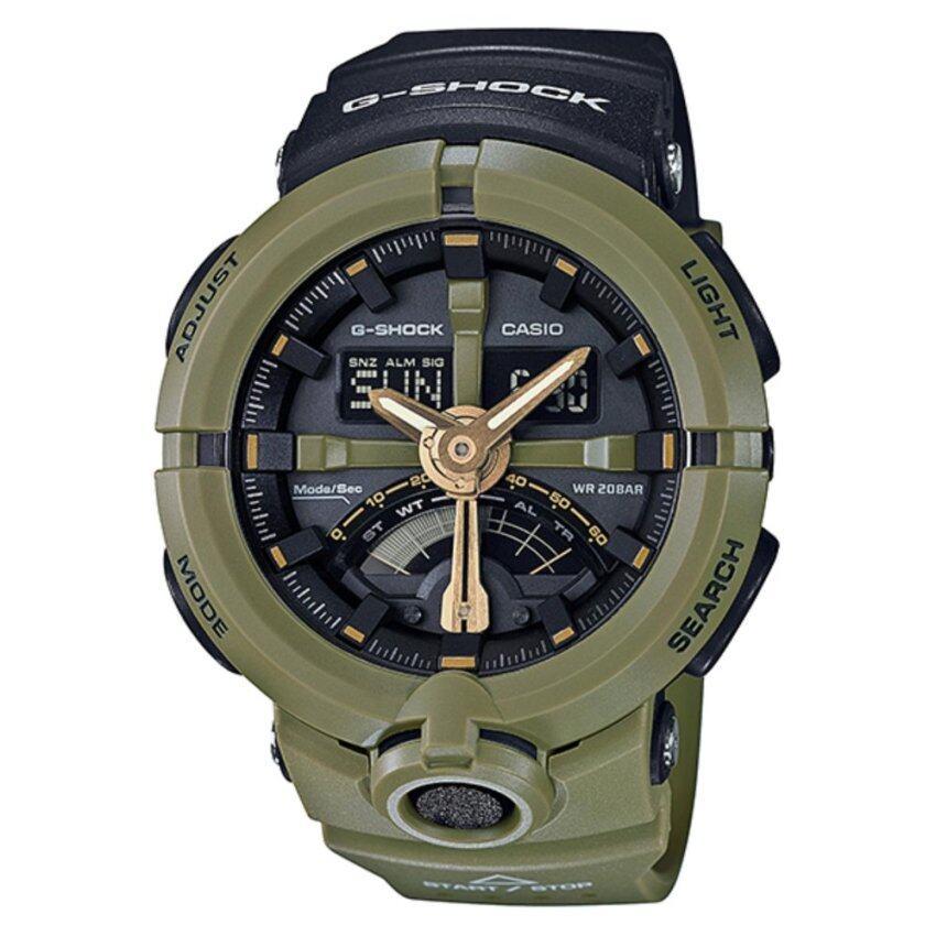 Casio G-Shock Men's Green Resin Strap Watch GA-500P-3A - intl