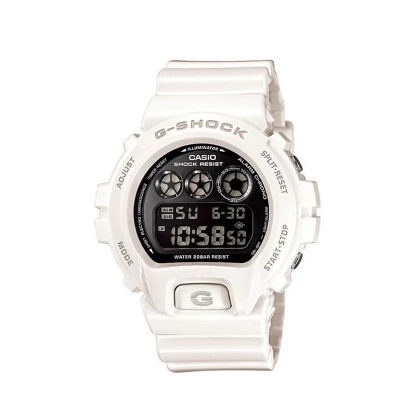 ด่วน Casio G-shock นาฬิกาข้อมือ รุ่น DW-6900NB-7DR (White) กำลังลดราคา