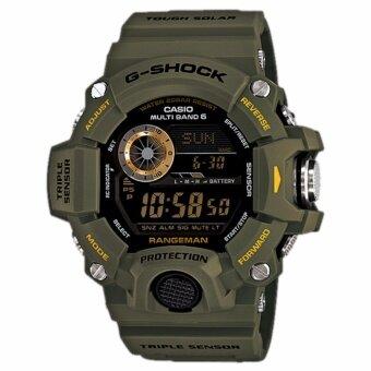 Casio G-shock Professional Rangeman นาฬิกาข้อมือสุภาพบุรุษ รุ่น GW-9400-3 (green)