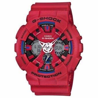 Casio G-Shock รุ่น GA-120TR-4ADR - สีแดง(Red) image