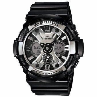 Casio  G-shock  นาฬิกาข้อมือ Standard Ana-Digital  รุ่น GA-200BW-1A   ( Black )