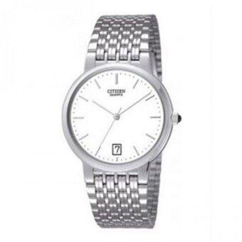 Citizen นาฬิกาผู้ชาย สายสแตนเลส รุ่น BK1930-65A - Silver