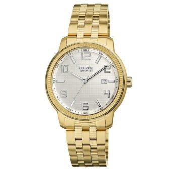 Citizen Chronograph White Dial นาฬิกาข้อมือชาย  Quartz Watch - BI0992-51A