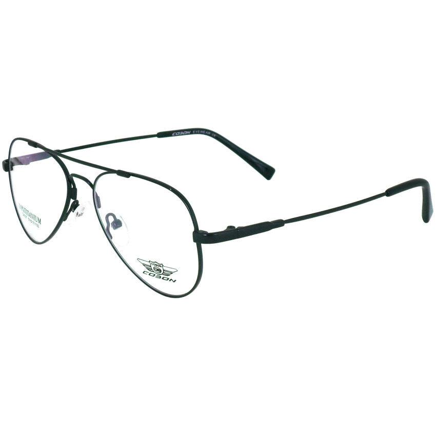 COBON แว่นตา รุ่น C-9007 สีดำ วัสดุไทเทเนียม(TITANIUM 100%) ...