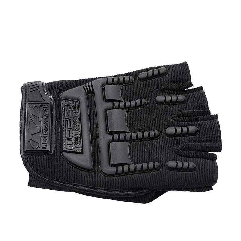 CS-532A1 sport riding outdoor tactical half finger glove black - intl