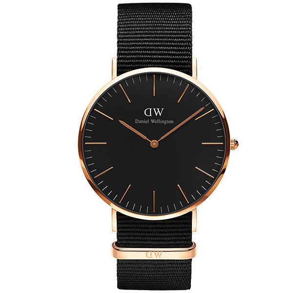 รีบเลย Daniel Wellington DW00100150 Classic Cornwall Horloge 36mmนาฬิกาข้อมือ แฟชั่น ผู้หญิง สีดำ Women Watch - Black ลดราคา