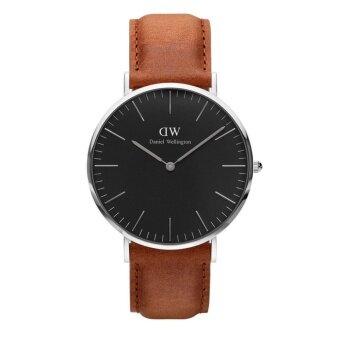 Daniel Wellington Mens Silver DW00100132 Classic Oxford Analog Quartz Watch - intl