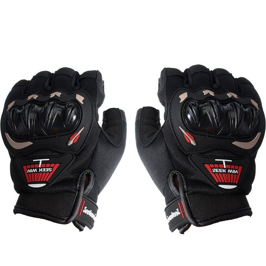 DHS. SEEK WIN SC-01B Motorcycle Gloves Red XXL)