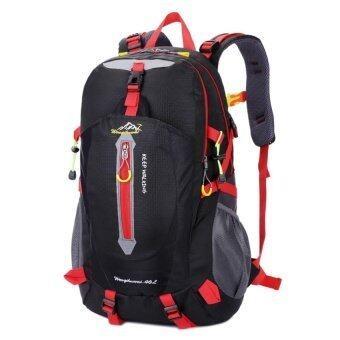 Dingmao Outdoor travel waterproof and Backpack Korean light bag 40 liters (buy 1 send 2  ...