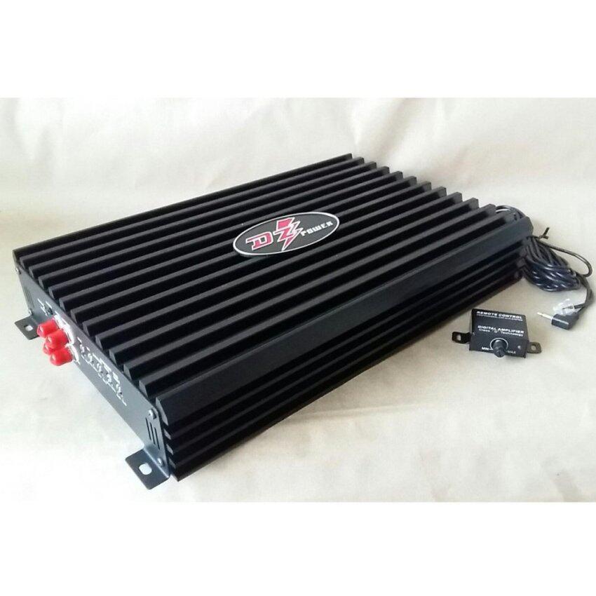 พาวเวอร์แอมป์/เครื่องเสียงรถยนต์/ DZ POWER CLASS D/ขับซับเบส/รุ่นใหม่