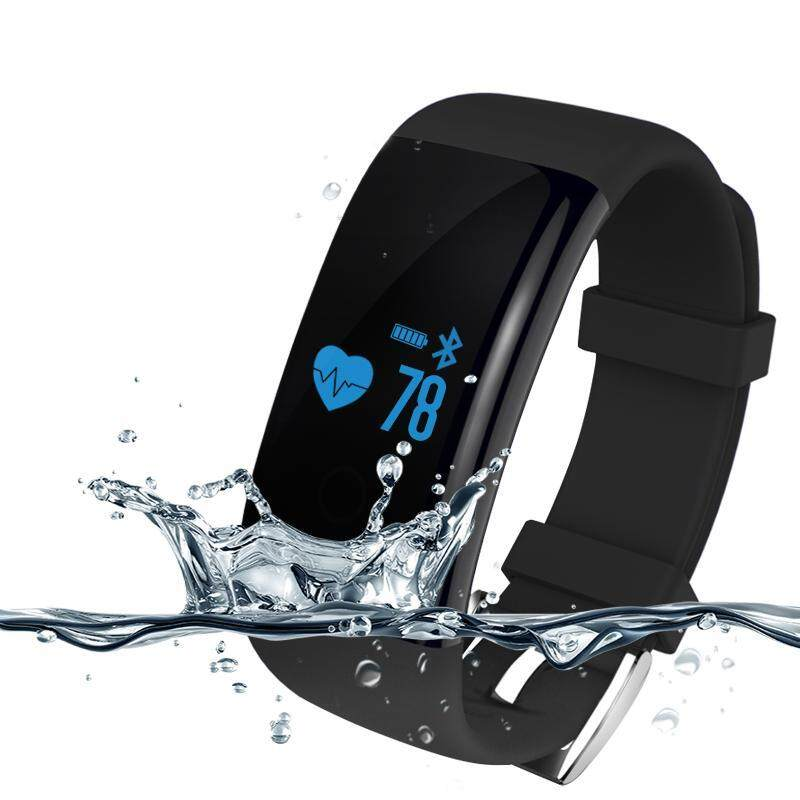 Fashion Bluetooth Smart Watch with Pedometer Sleep Heart Rate Monitor Waterproof SmartWatch For IOS Android Women Sports Watches - intl