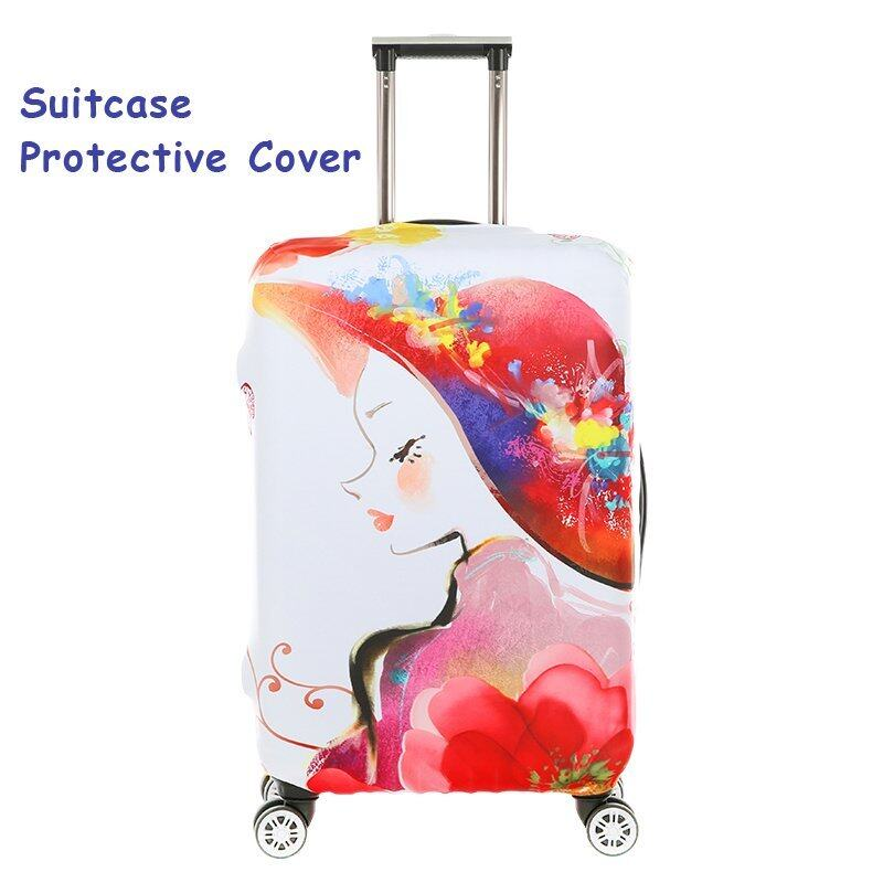 ... FLORA FLORA FLORA FLORA Expandable Elasticy 26 28 inch Waterproof Travel Luggage Protective Cover