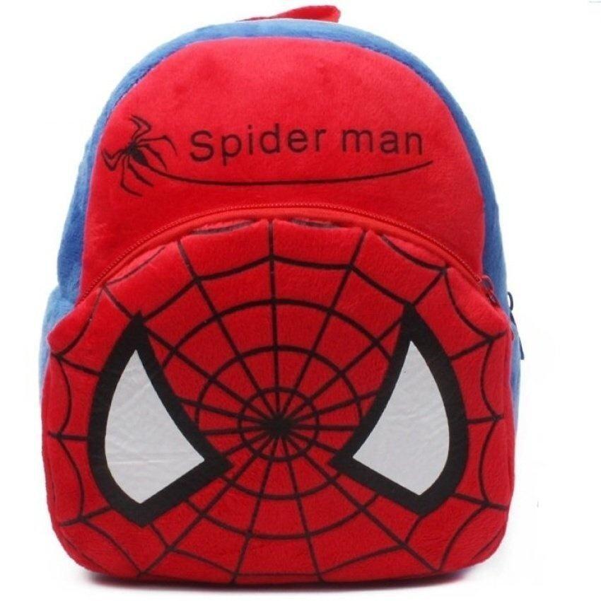 FLY Baby Spider Man Design Schoolbag Backpack - intl ...