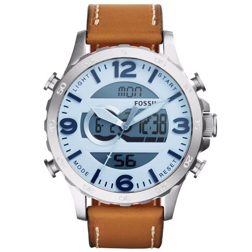 ด่วน Fossil JR1492 นาฬิกาผู้ชาย สายหนัง กำลังลดราคา