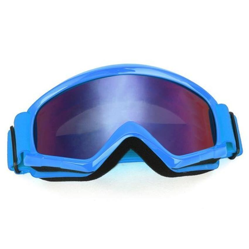 FSH Motorcycle Motocross Helmet Ski Snowboard Eye Protection Glasses Goggle Blue