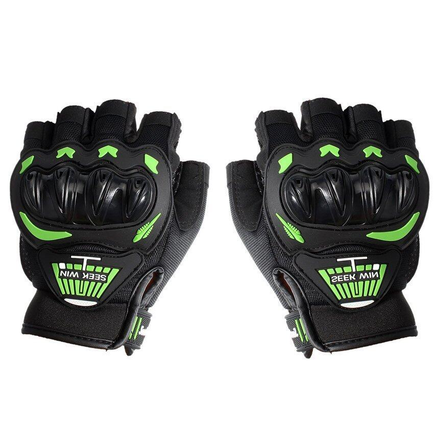 FSH SEEK WIN SC-01B Motorcycle Gloves Green M