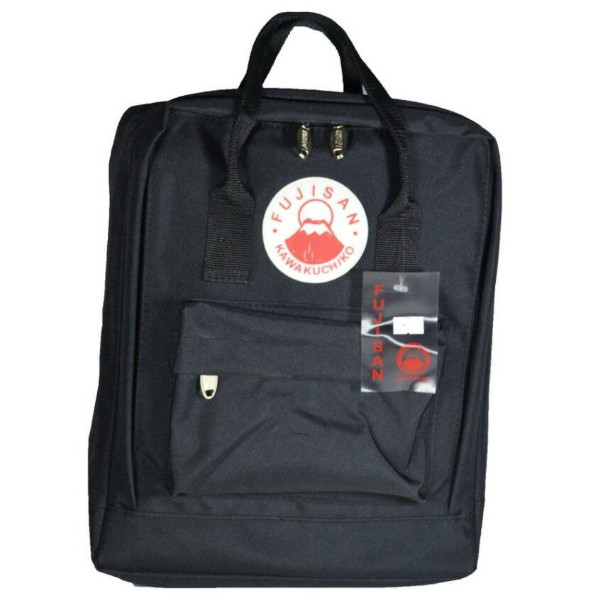 Fujisan Kawakuchiko กระเป๋าเป้สไตล์ญี่ปุ่น Code 9333 (Black)