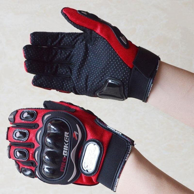 Full Finger Motorcycle Gloves Accessories Parts Protective Gears Gloves XL - intl