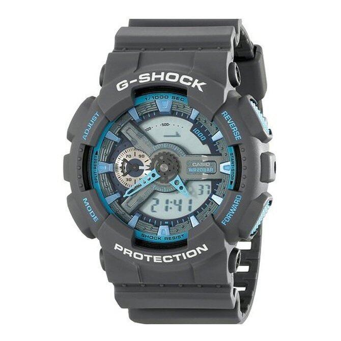 G-SHOCK GA-110TS-8A2DR MENS ANALOG DIGITAL WATCH - GRAY
