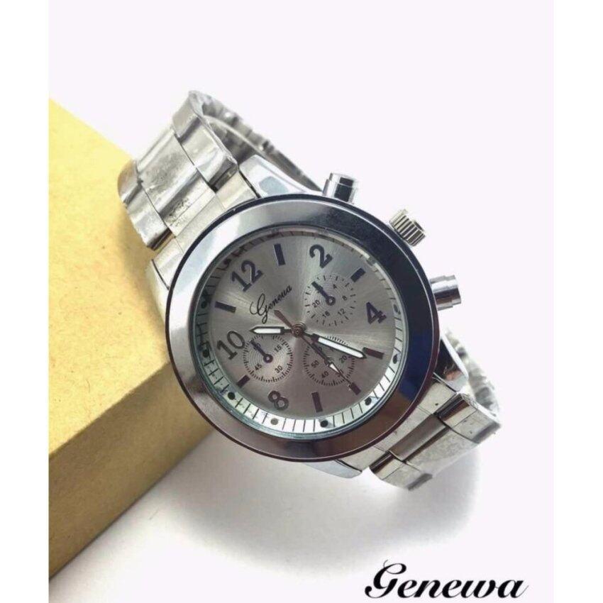 GENEVA GN021 นาฬิกาแฟชั่น,ใบรับประกันสินค้าจากศูนย์,พร้อมกล่อง ...