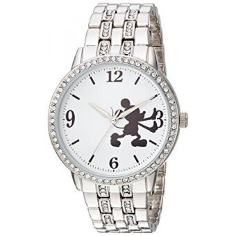GPL/ Disney Womens Mickey Mouse Quartz Metal and Alloy Casual Watch Color:Silver-Toned (Model: WDS000385)/ship from USA - intl