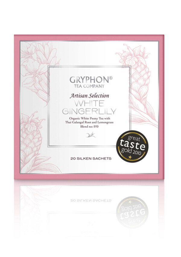 Gryphon กริฟฟอน ไวท์ จิงเจอร์ลิลี่ ไวท์ที (ขาว) GRYPHON White Gingerlily White Tea ...