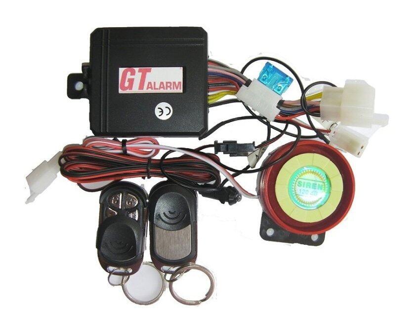 Gt-Alarmสัญญาณกันขโมยรถมอเตอร์ไซค์ Zoommer X รุ่นเก่า