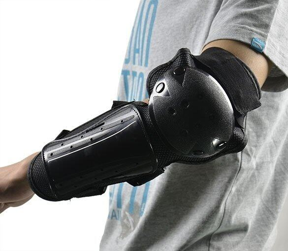 Haloo Knee Shin Elbow Body Guard Armour Support Motorcycle Dirt ATV Racing Gear Pads - intl