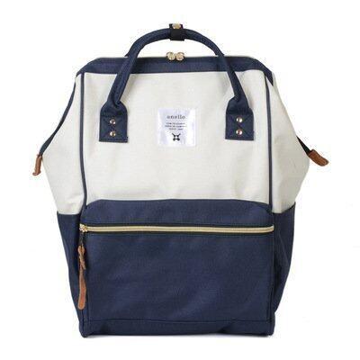 Happy Buy Fashion Waterproof Soild Anello Backpack Man Women Canvas Travel Bag Computer Backpack School Backpacks for Teenage Girls Classic - intl