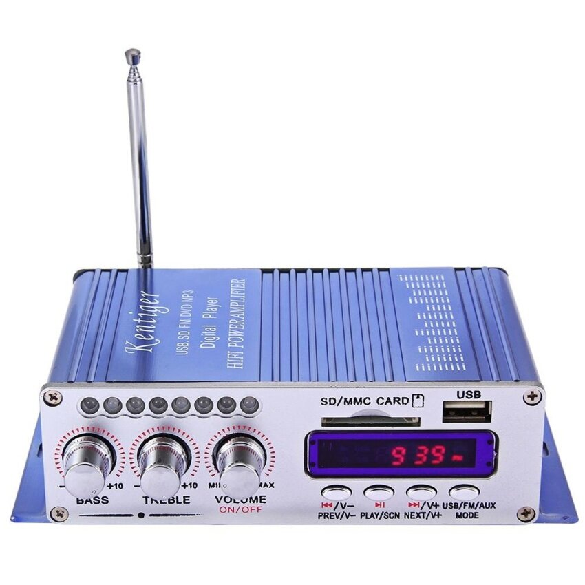 Hi-Fi Digital Auto Car Stereo Power Amplifier Sound Mode Audio Music Player - intl