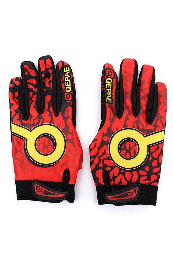 HKS QEPAE Winter Windproof Cycling Bike Motorcycle Full Finger Gloves - intl