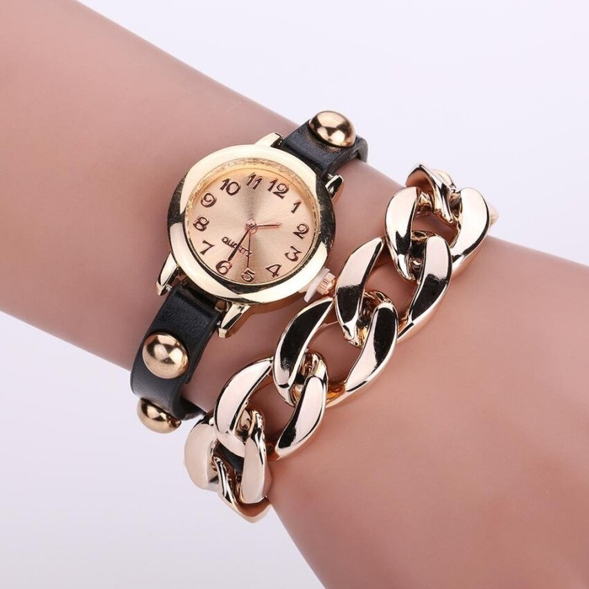 Hot Style Bracelet Watch Adult Student Fashion Vintage Gladiator Style Chain Watches - intl