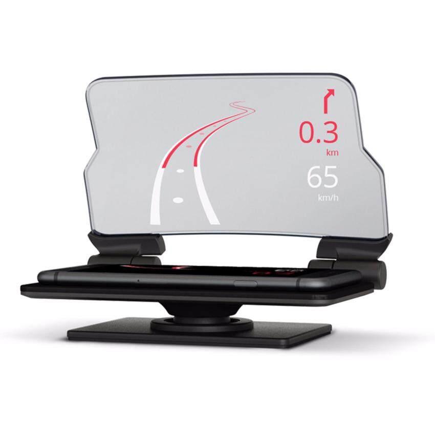HUDWAY Glass Head up display ช่วยดู GPS ในสมาร์ทโฟนในเวลาขับรถ ...