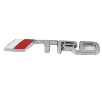 BolehDeals 3D TRD สติกเกอร์ตราสัญลักษณ์โลโก้โลหะโลหะสำหรับ Toyota การตกแต่งรถ (image 1)